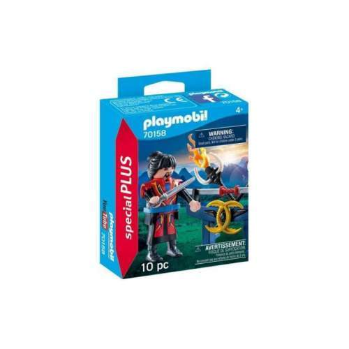 Set Playmobil Special Plus - Figurina Razboinic Cu Arme 70158
