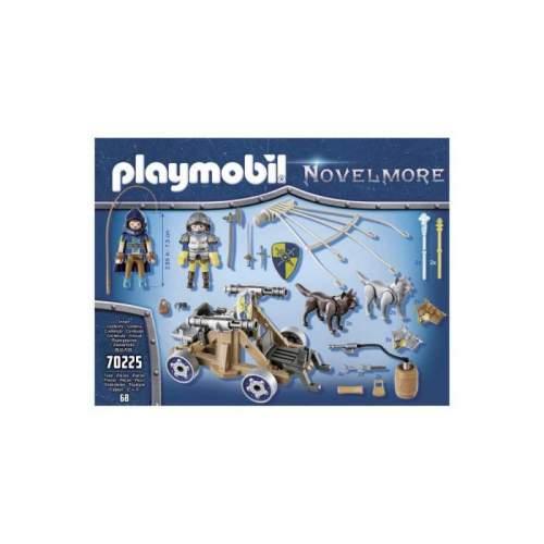 Set Playmobil Novelmore - Echipa Lupilor Novelmore Cu Tun 70225