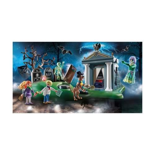 Set Playmobil Scooby Doo - Aventuri In Cimitir 70362