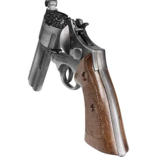 Gonher Revolver Politie 12 - Old Silver