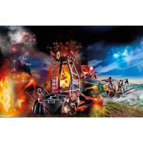 Set Playmobil Novelmore - Banditi Burnham Si Mina De Lava 70390