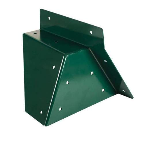 Coltar Universal forma patrata, unghi oblic Verde
